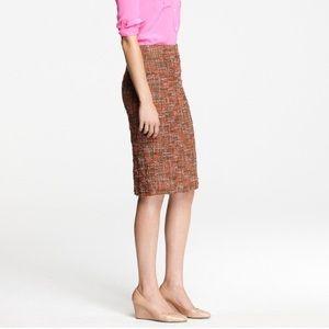 J. Crew No 2 Pencil skirt- Harvest Tweed